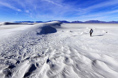 Photographer at White Sands Stock Photos