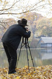 Photographer at work Royalty Free Stock Image