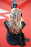 Photographer. At work on the Red Carpet at 69th Venice Film Festival on September 8, 2012 in Venice, Italy Stock Images