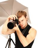 Photographer001 Royalty Free Stock Images