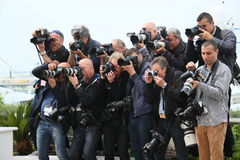 Photographers attends the jury photocall Stock Photos