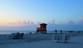 Photographers on the Beach Royalty Free Stock Photos