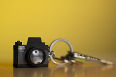 Photographers keychain Stock Image