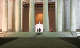 Photographers at Lincoln Memorial Royalty Free Stock Photography