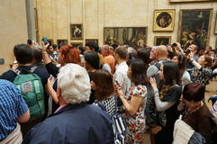 Photographers at the Louvre Museum Royalty Free Stock Photography