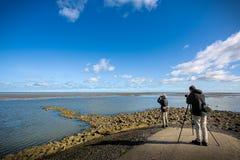 Free Photographers On The Seaside Royalty Free Stock Image - 208239126