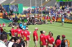 Photographers at Rio2016 Olympics Stock Photography