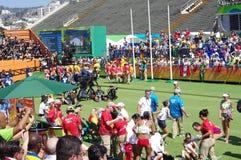 Photographers at Rio2016 Olympics Royalty Free Stock Photography