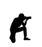 Photographers silhouette Stock Photos