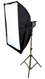 Photographers Soft Box Light Royalty Free Stock Image