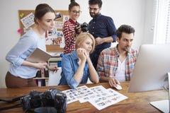 Photographers at work Stock Photos