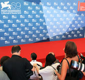 Photographers. At work on the Red Carpet at 69th Venice Film Festival on September 8, 2012 in Venice, Italy Stock Image