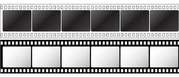 Photographic 35mm film strip Stock Images