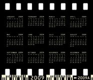 Photographic Calendar for 2009 Stock Image
