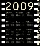 Photographic Calendar for 2009 Royalty Free Stock Images