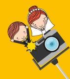 Photographic camera design Stock Photo