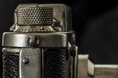 Photographic camera detail close up Royalty Free Stock Photo