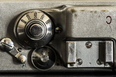 Photographic camera detail close up Stock Images