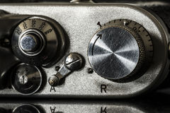 Photographic camera detail close up Stock Photography