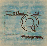 Photographic camera Royalty Free Stock Photography