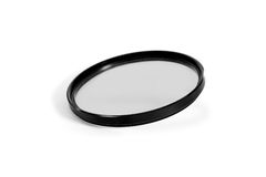 Photographic camera equipment lens filter Royalty Free Stock Photos