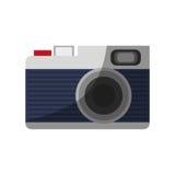 Photographic camera icon Stock Photo
