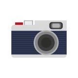 Photographic camera icon Royalty Free Stock Image