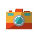 Photographic camera icon Royalty Free Stock Photo