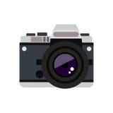 Photographic camera icon Stock Image