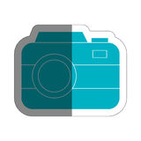 Photographic camera icon Stock Photography