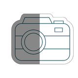 Photographic camera icon Stock Images