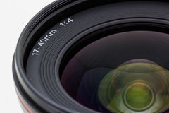 Photographic camera lens. Stock Photography