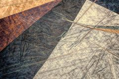 Photographic color drawing mosaic royalty free stock photography