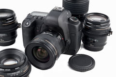 Photographic equipment Stock Photo