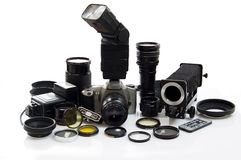 Photographic Equipment Royalty Free Stock Photos