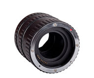 Photographic Extension Tubes Royalty Free Stock Photography