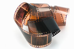Photographic film Royalty Free Stock Images