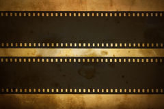 Photographic film. On the grung background Stock Photos