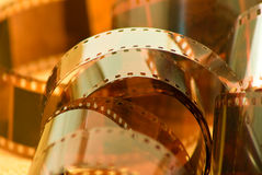 Photographic film closeup Royalty Free Stock Photos