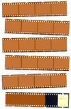 Photographic film strip Royalty Free Stock Photos