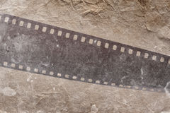 Photographic film strip Stock Image