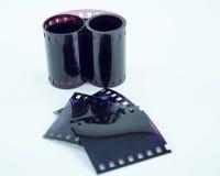 Photographic films. Stock Photos