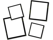 Photographic frames. Royalty Free Stock Photo