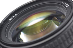 Photographic lens Royalty Free Stock Photo