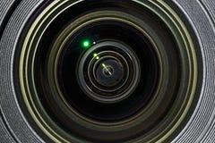 Photographic lens closeup view Stock Photo