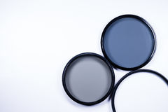 Photographic lens filter Royalty Free Stock Photos
