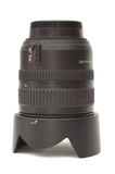 Photographic lens with hood Stock Image