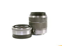 Photographic lenses. Stock Photo