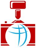 Photographic logo Stock Image