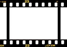 Photographic 35 mm film strip Stock Image